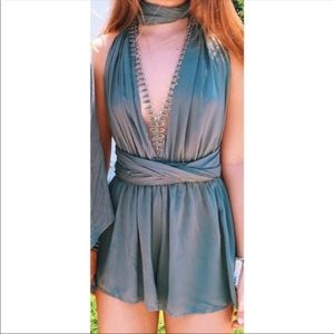 LF Multiway Romper SAGE size SMALL